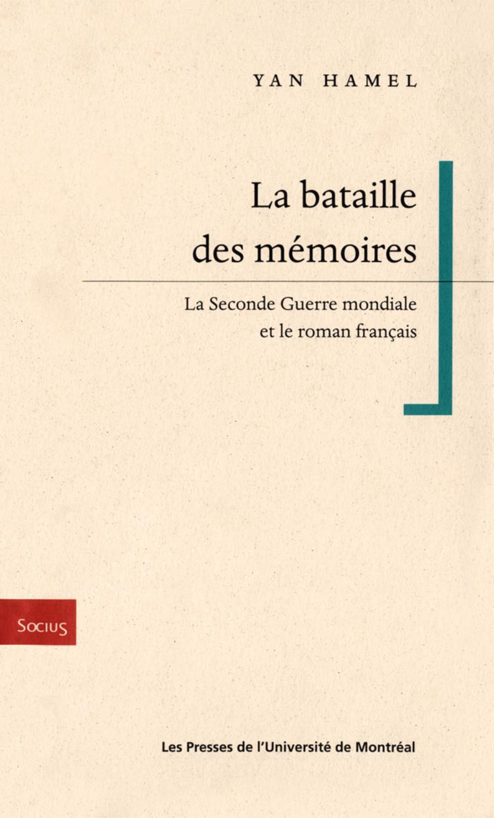 La bataille des memoires. L...