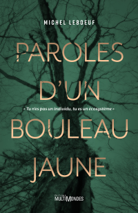 Image de couverture (Paroles d'un bouleau jaune)
