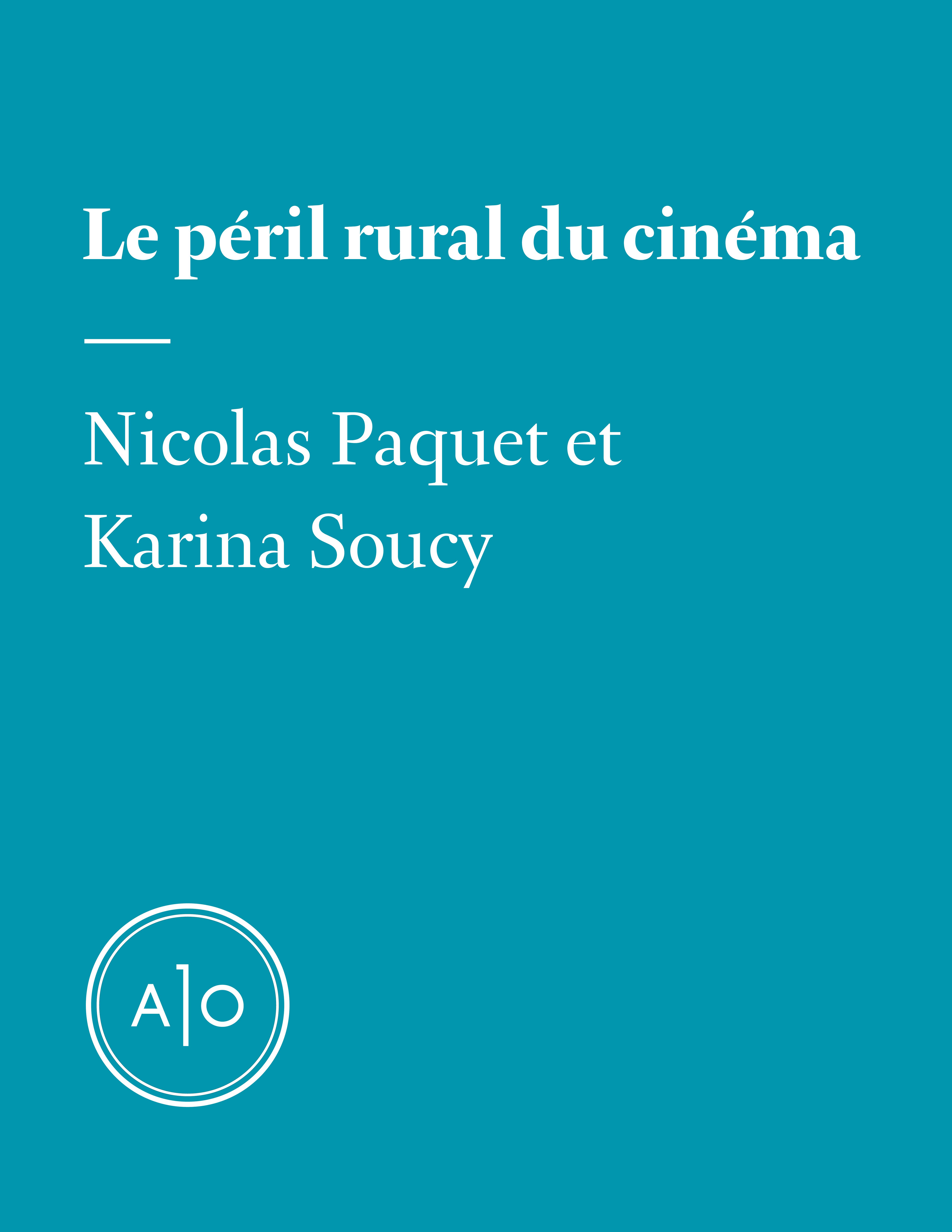 Le péril rural du cinéma