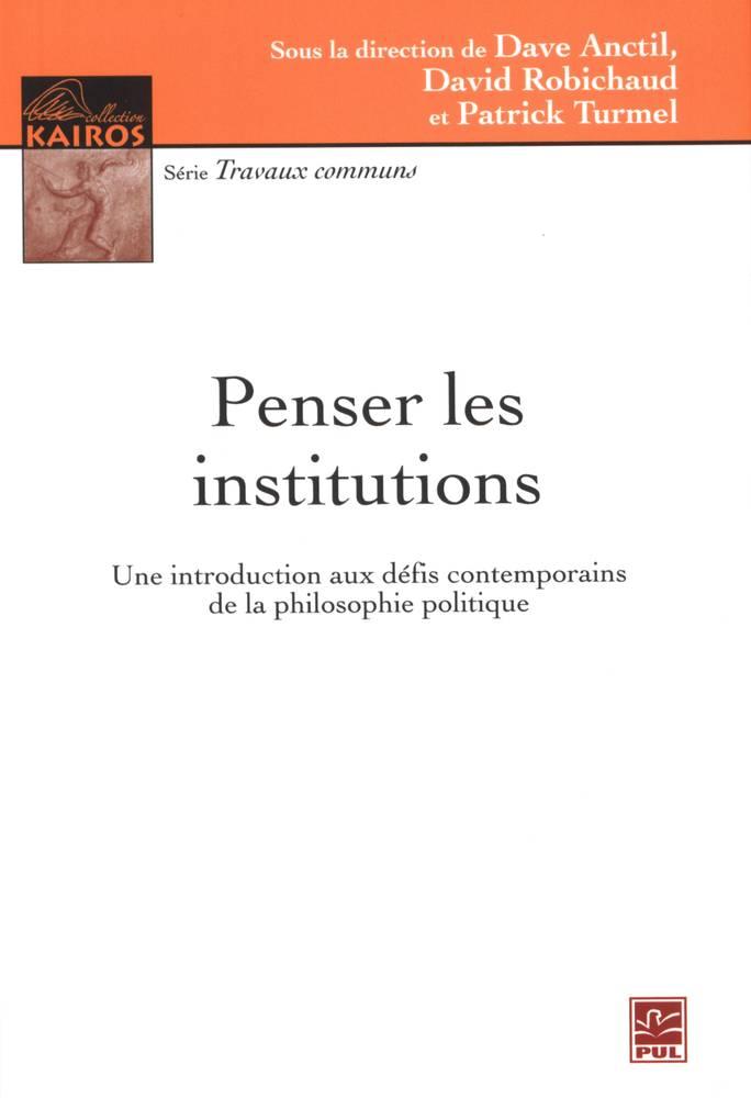 Penser les institutions
