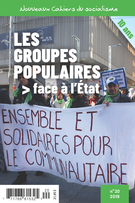 Nouveaux Cahiers du socialisme. No. 20, Automne 2018