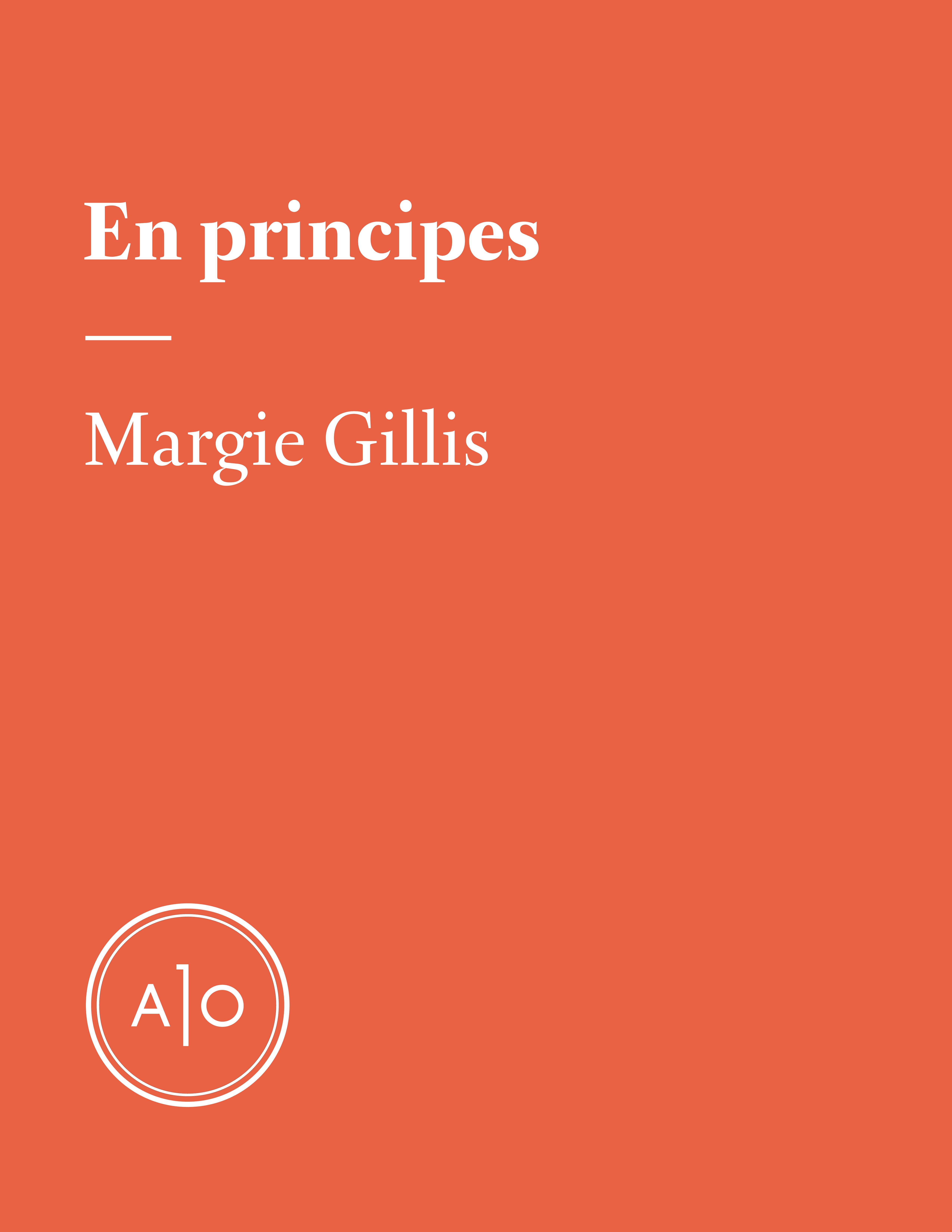 En principes: Margie Gillis