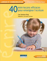 40 mini-leçons efficaces po...