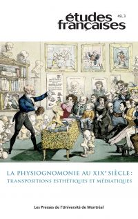 Études françaises. Vol. 49 ...