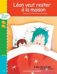 Image de couverture (Léon veut rester à la maison)