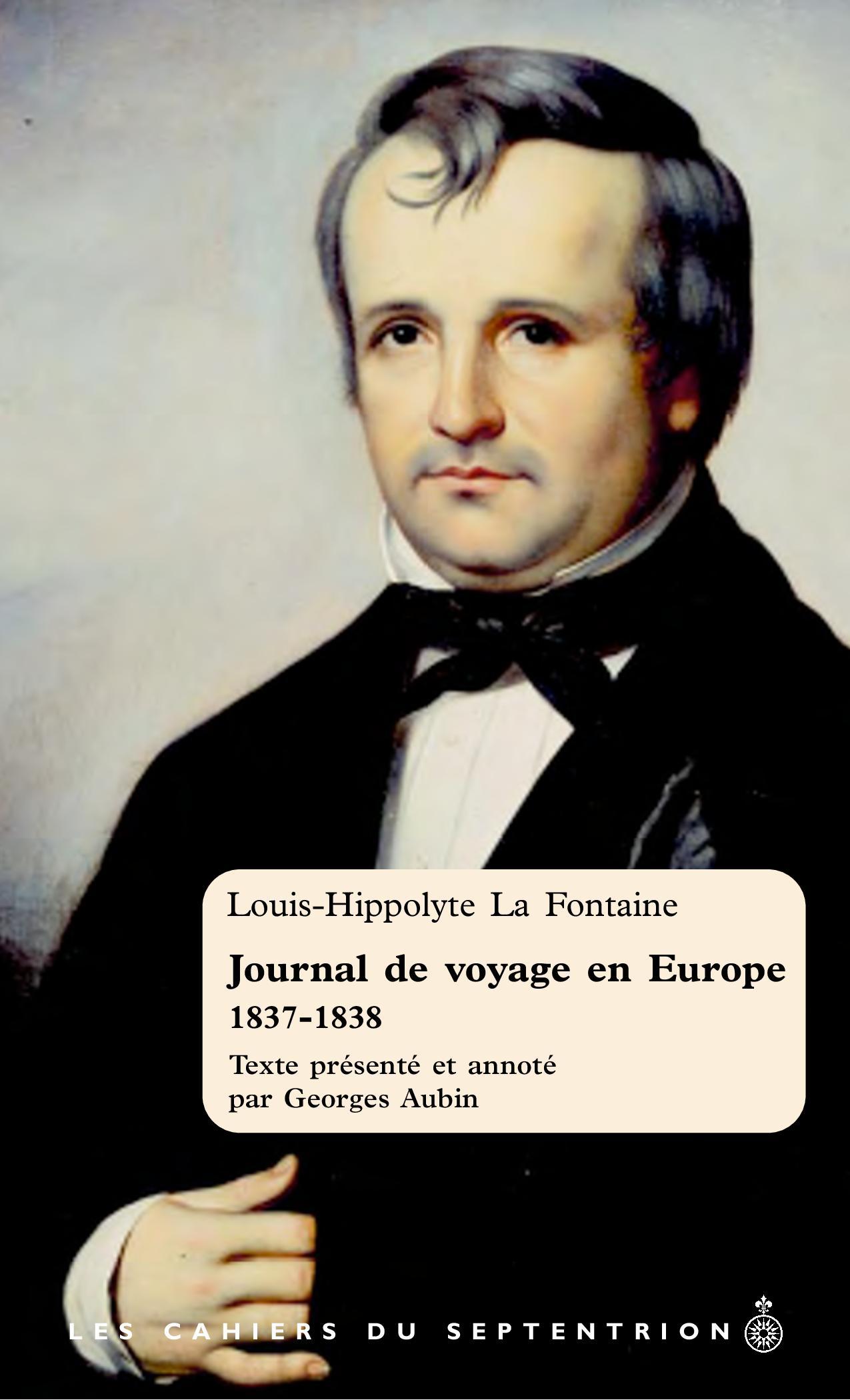 Journal de voyage en Europe...