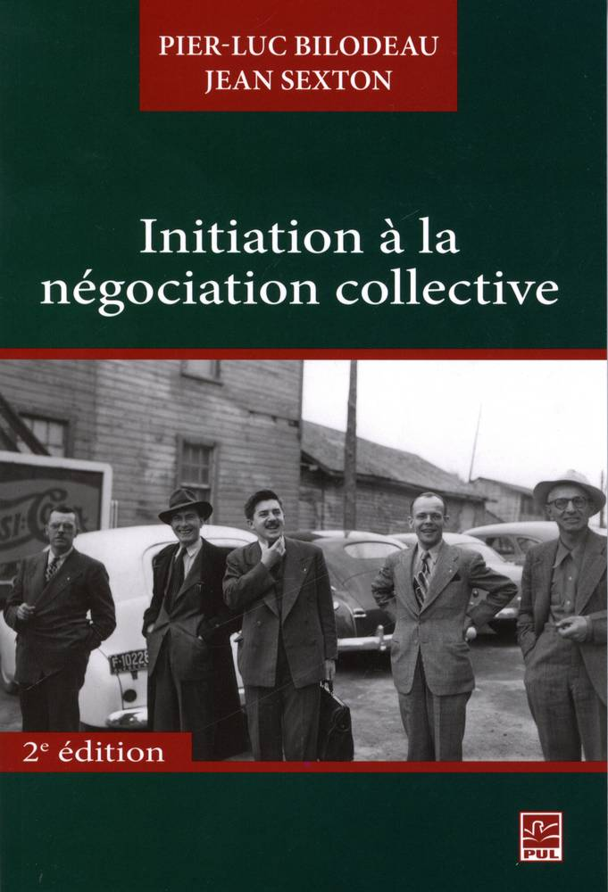 Initiation à la négociation collective 2e édi