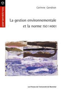 La gestion environnementale...