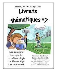 Livrets thématiques #7