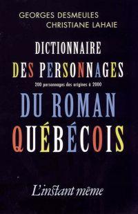 Dictionnaire des personnage...