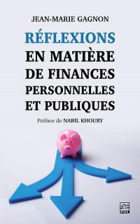 Image de couverture (Réflexions en matière de finances personnelles et publiques)