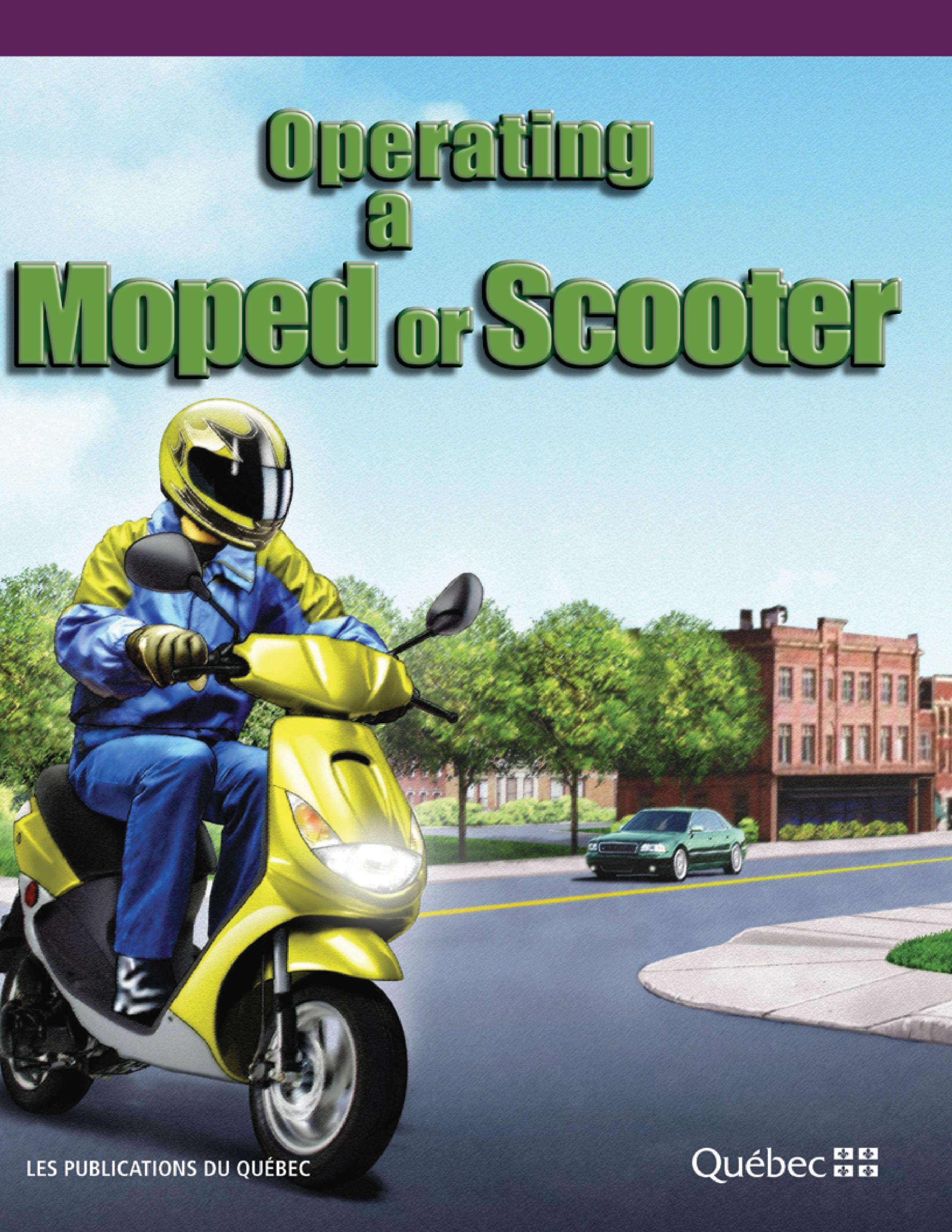 Operating a Moped or Scooter