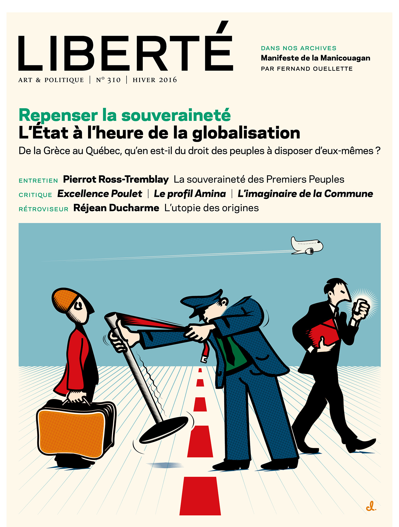 Revue Liberté 310 - Repense...