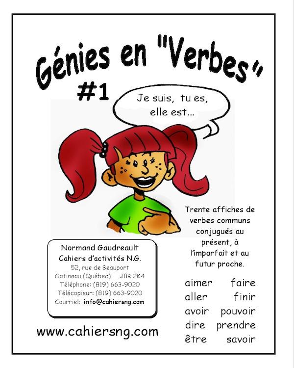 "Génies en ""verbes"" 1"