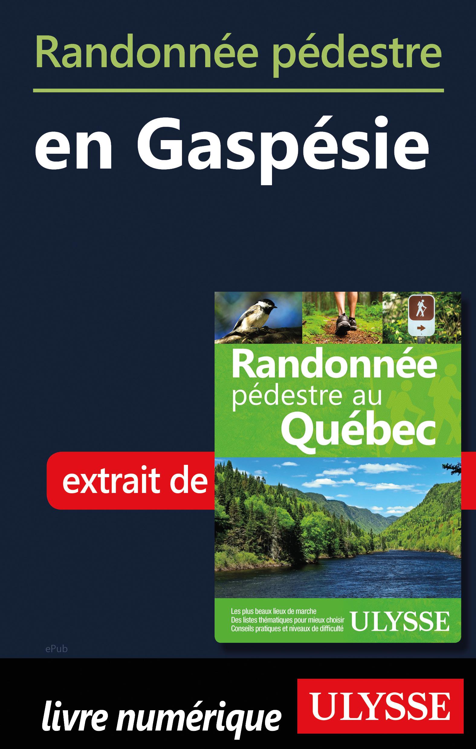 Randonnée pédestre en Gaspésie