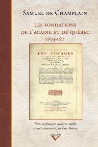 Les Fondations de l'Acadie ...