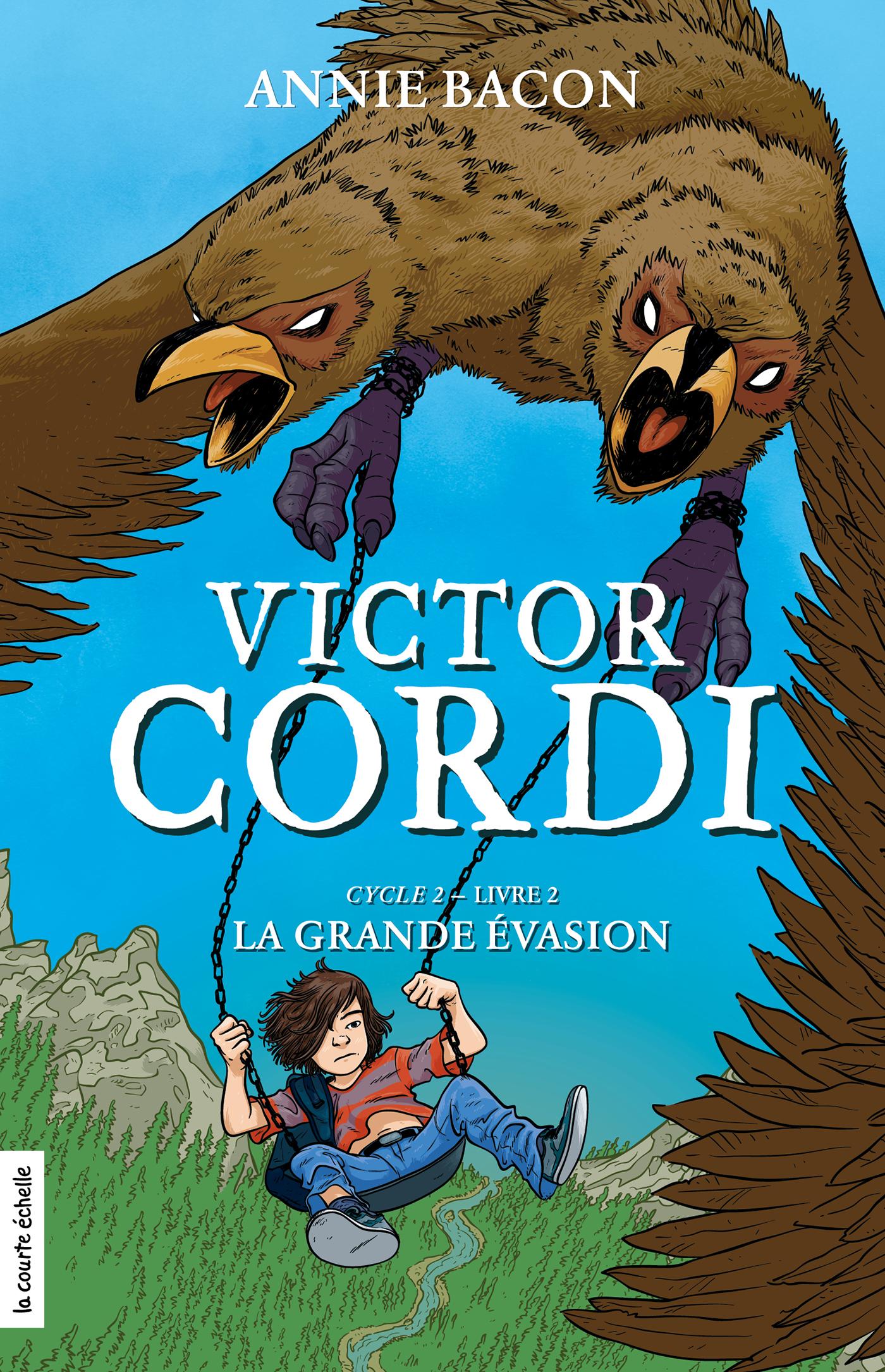 La grande évasion, Victor Cordi, Cycle 2, livre 2