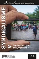 Nouveaux Cahiers du socialisme. No. 19, Hiver 2018