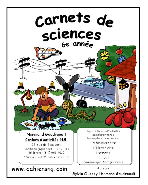 Carnets de sciences (6e année)