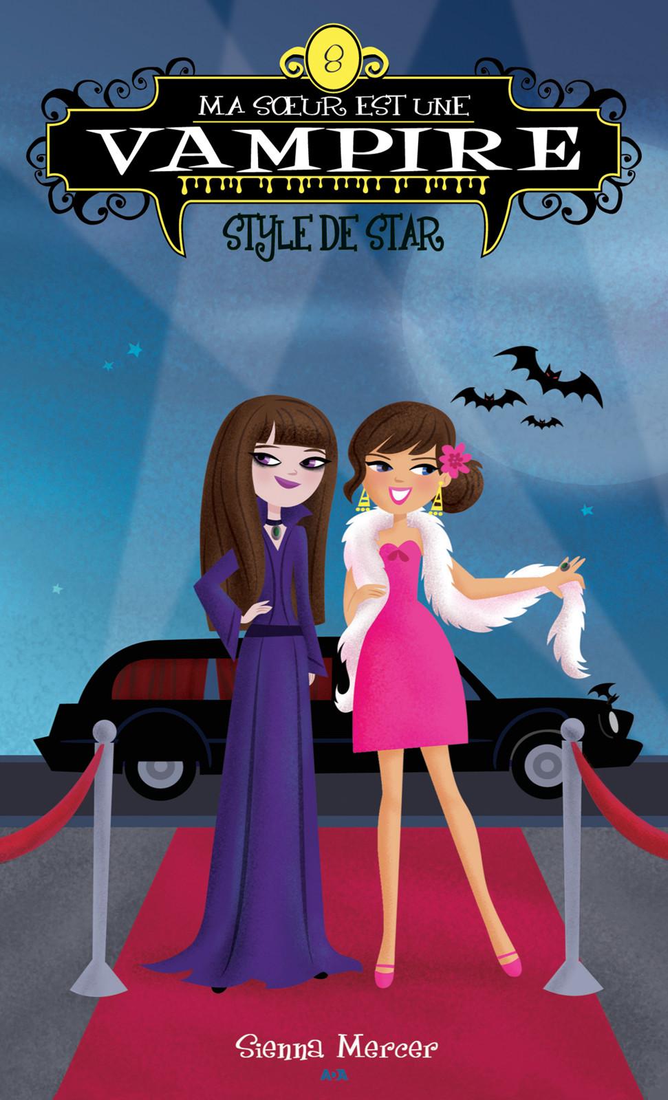 Ma soeur est une vampire, Style de star