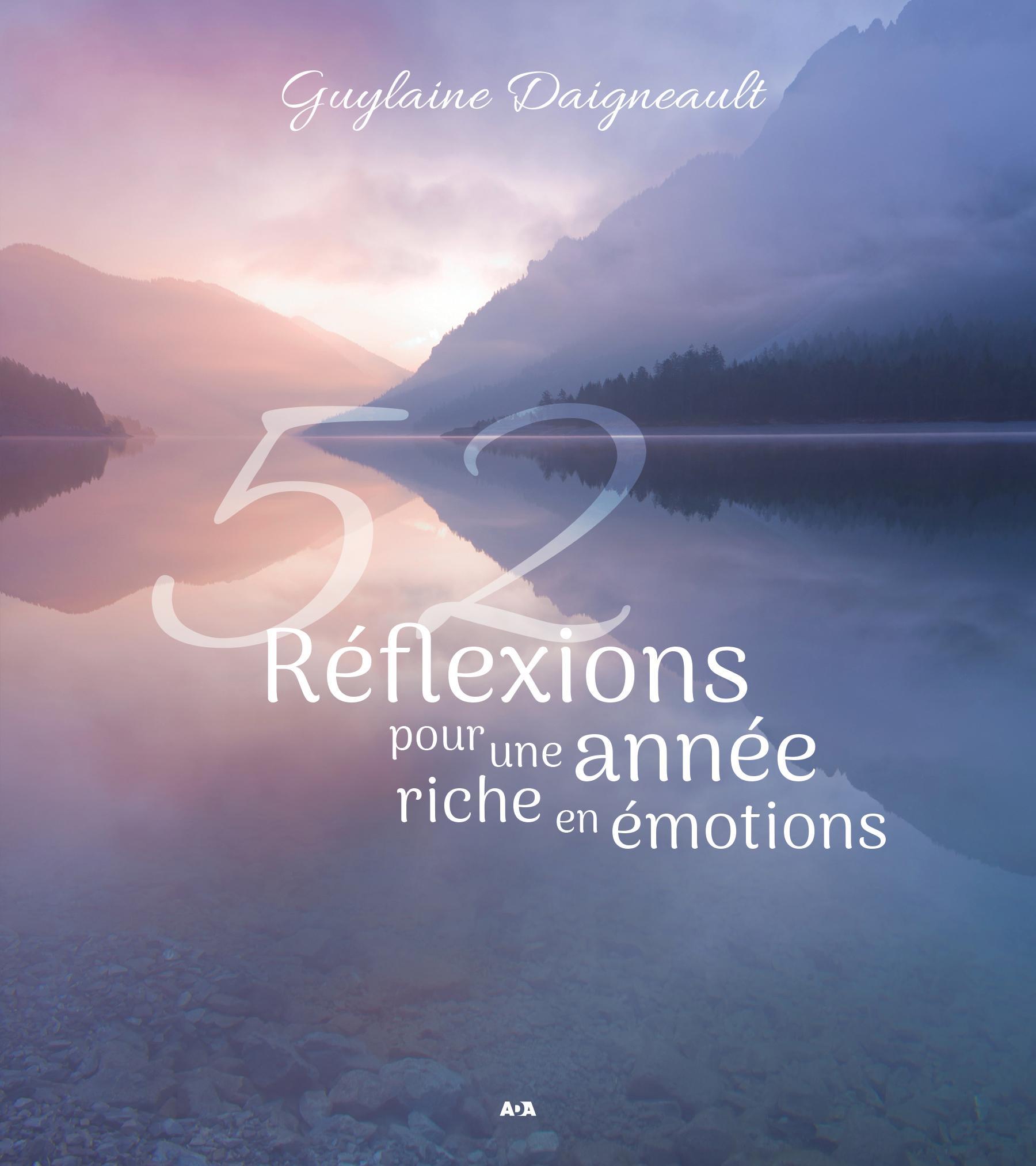 52 Réflexions pour une année riche en émotions