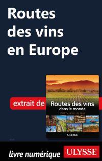 Routes des vins en Europe