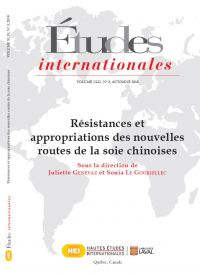 Études internationales. Vol. 49 No. 3, Automne 2018