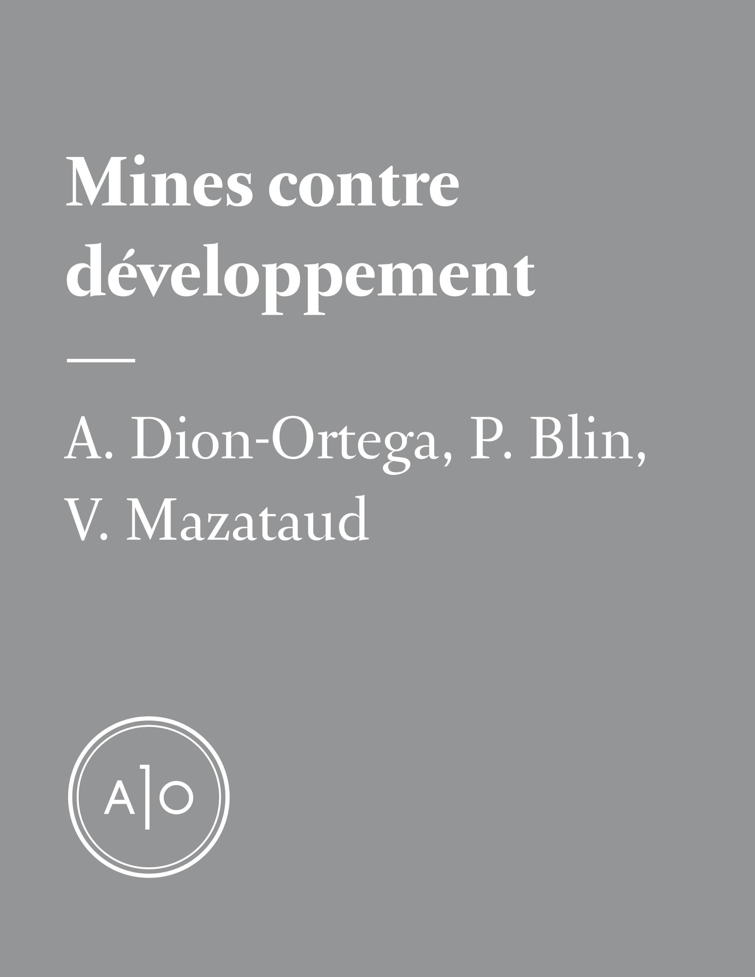 Mines contre développement:...