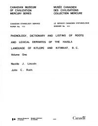 Phonology, dictionary and l...