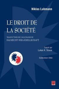 Le droit de la société(tra...