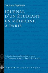 Journal d'un étudiant en médecine à Paris