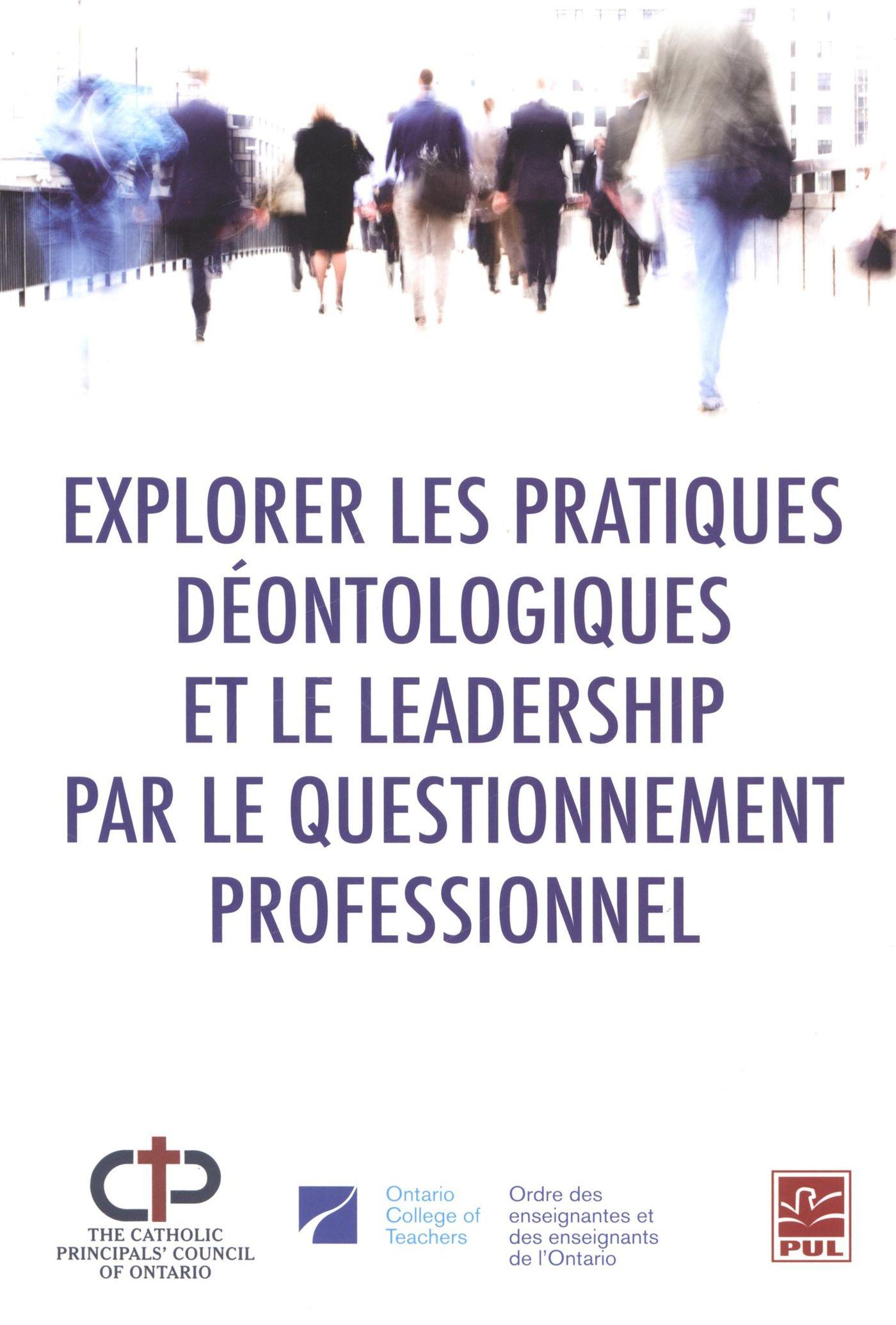 Explorer les pratiques déontologiques et le leadership...