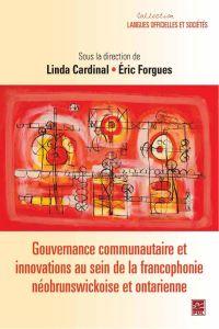 Gouvernance communautaire e...