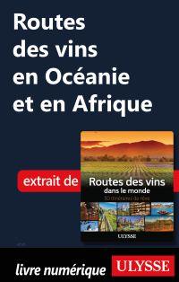 Routes des vins en Océanie ...