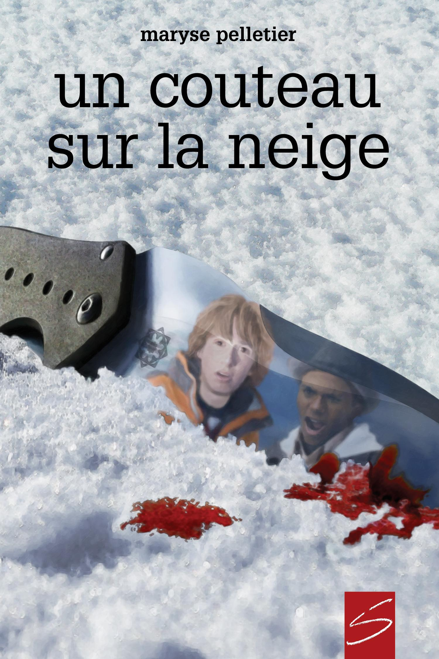 Un couteau sur la neige