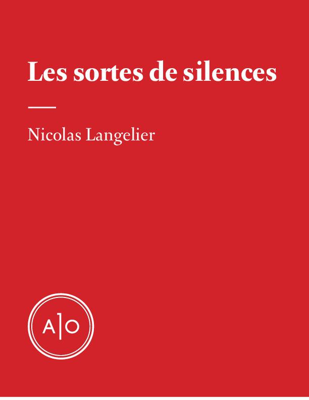 Les sortes de silences