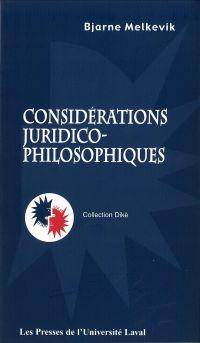 Considérations juridico-phi...