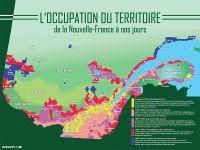 [005] L'occupation du territoire de la Nouvelle-France à nos jours