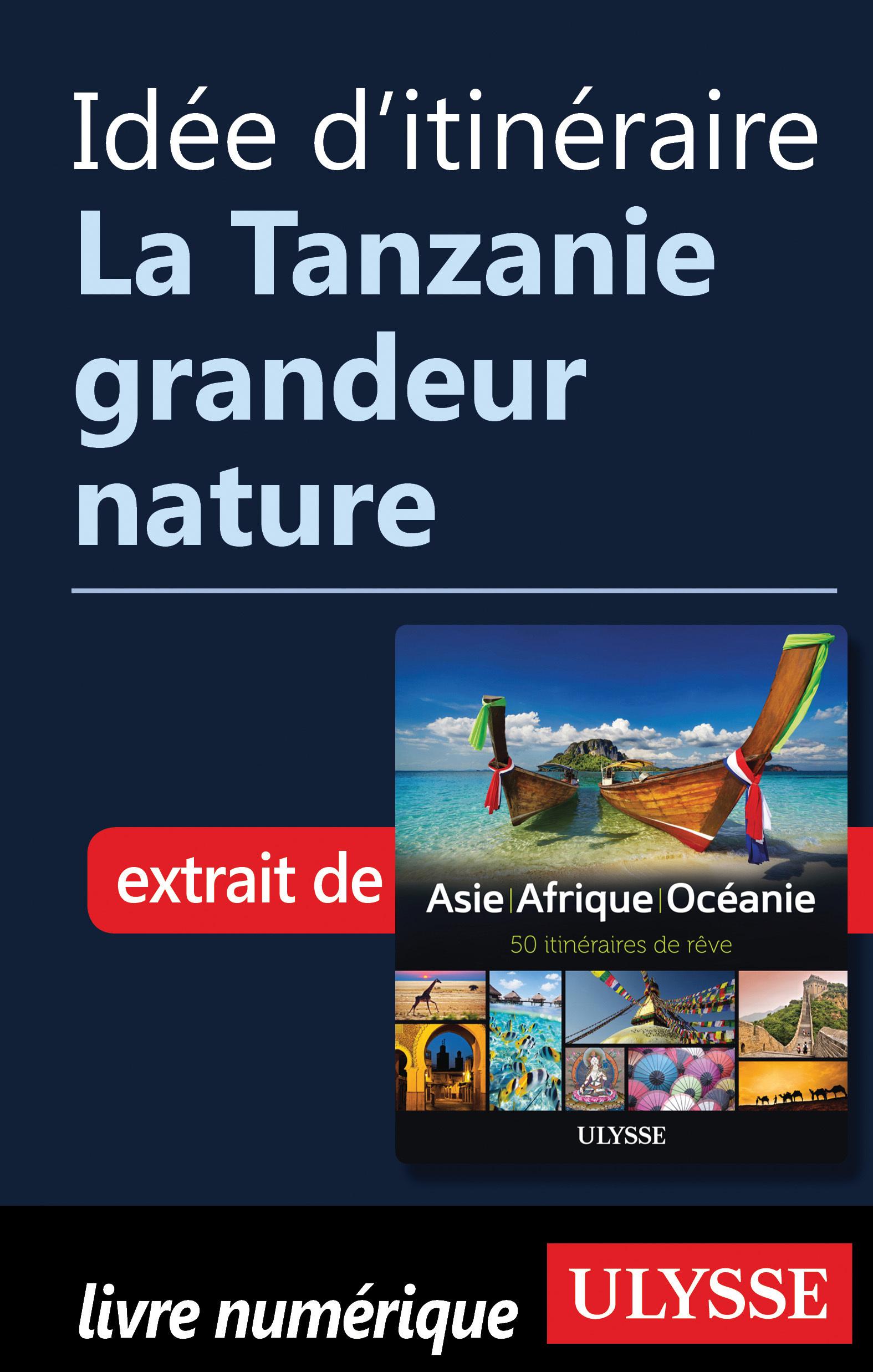 Idée d'itinéraire - La Tanz...