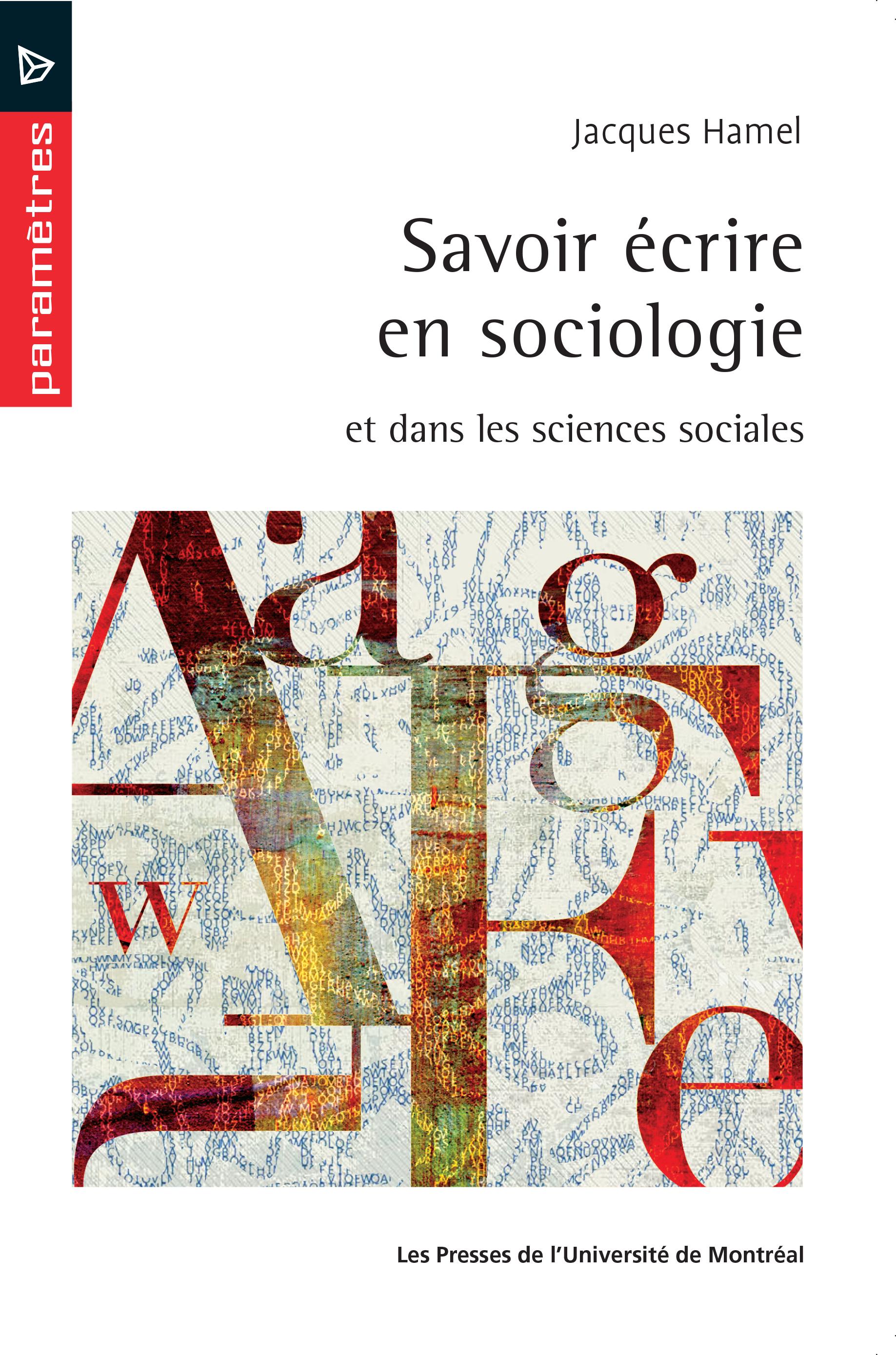 Savoir écrire en sociologie