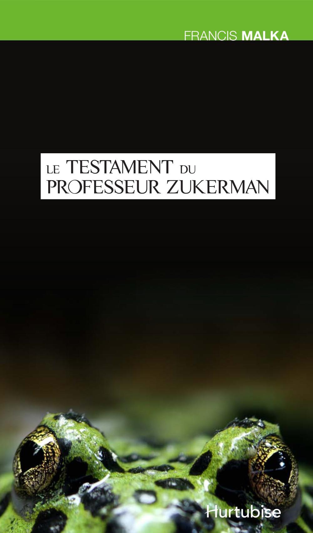 Le testament du professeur Zukerman