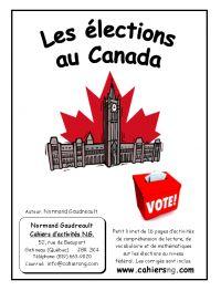 Les élections au Canada