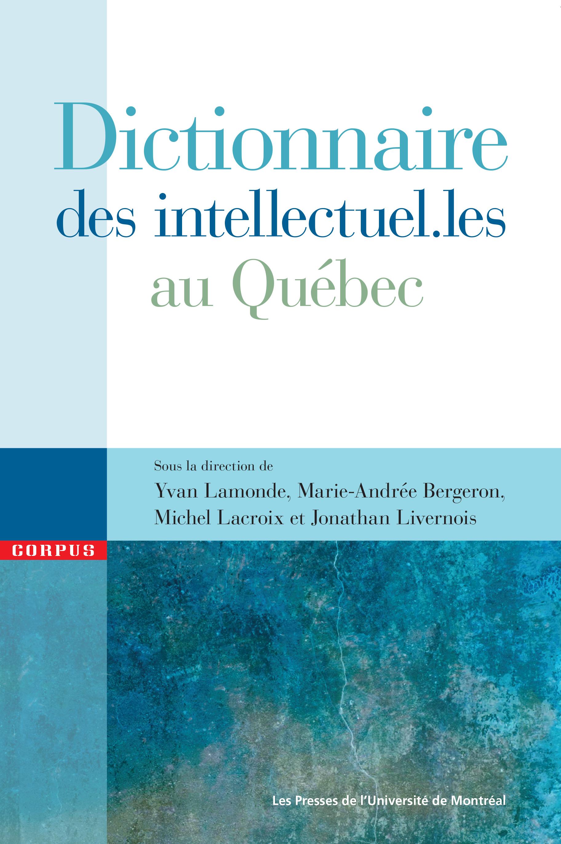 Dictionnaire des intellectu...