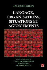 Langage, organisations, sit...