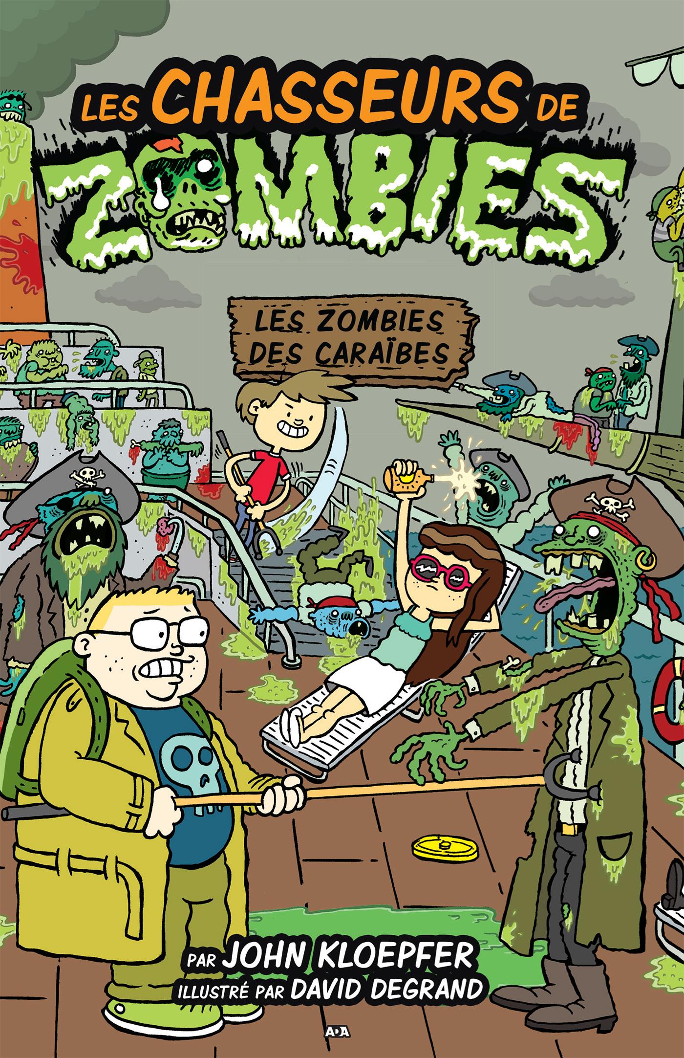 Les chasseurs de zombies, Les zombies des Caraïbes