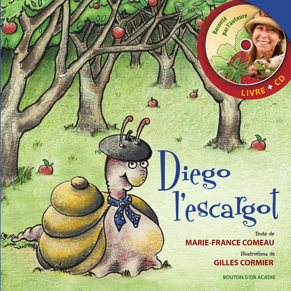Diego l'escargot-réédition