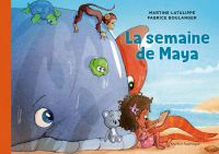 Image de couverture (Les mondes de Maya 3 - La semaine de Maya)
