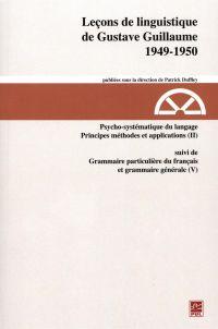 Leçons de linguistique de G...