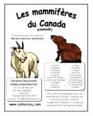 Les mammifères du Canada (V...