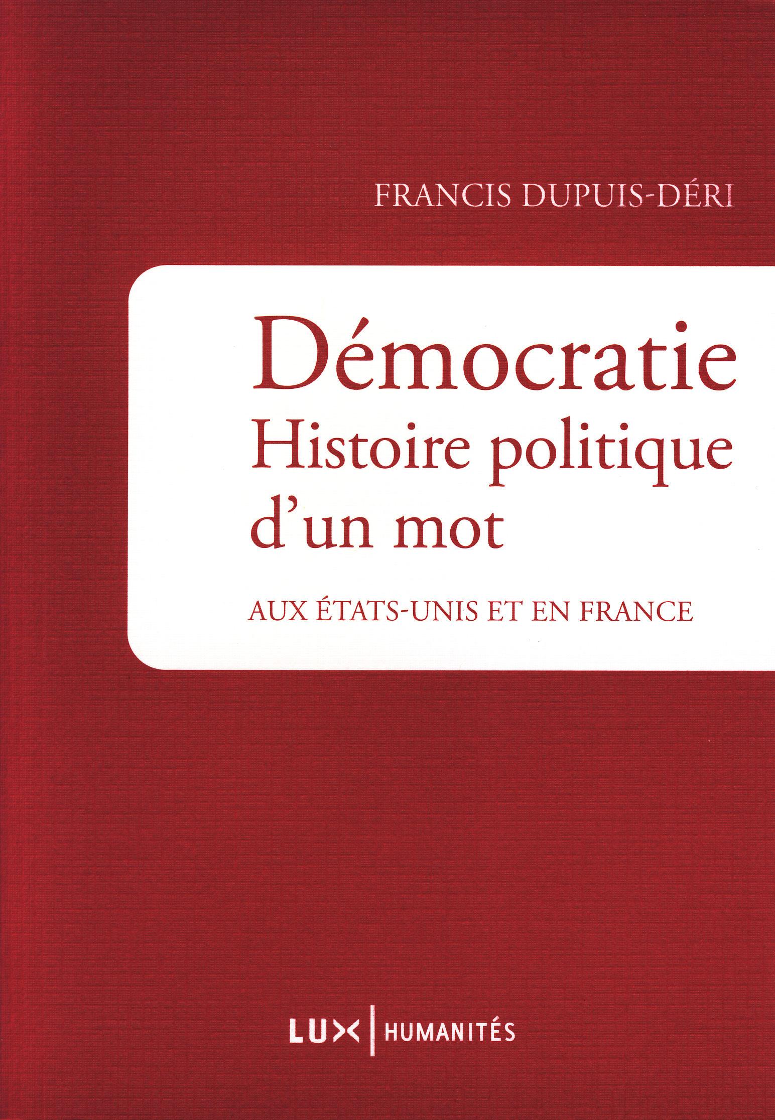 Démocratie. Histoire politi...